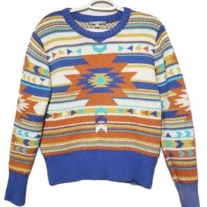 WOW Couture Boho Aztec Tribal Sweater